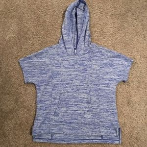 Athleta Girl Size M 8-10 Short Slv Hoodie